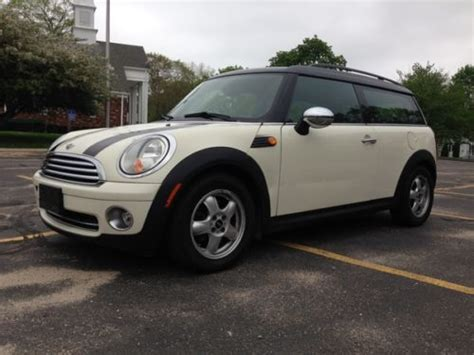 best car repair manuals 2009 mini clubman auto manual sell used 2009 mini cooper clubman wagon 3 door 1 6l 6 speed panoramic roof no reserve in