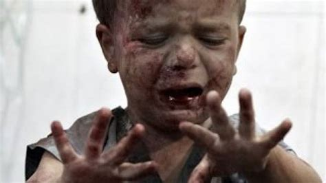 Child In The War australian and western corporate media ignore the