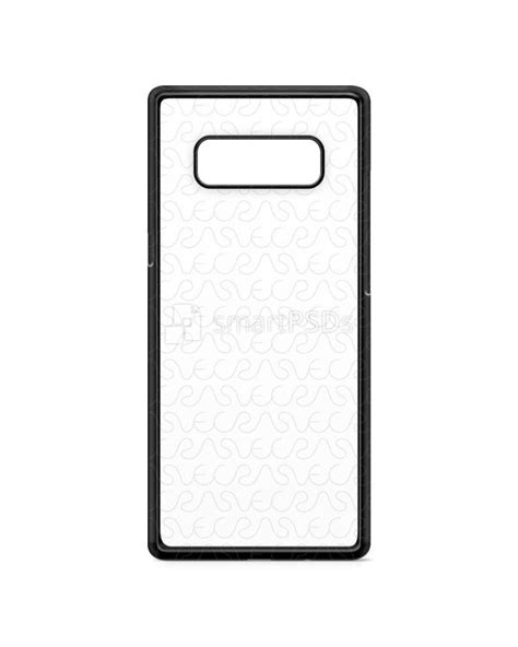 Samsung Galaxy Note 8 Back Casing Design 056 samsung galaxy note 8 2d imd colored mobile design mockup 2017 vecras