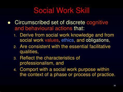 ppt social work skills powerpoint presentation id 799003