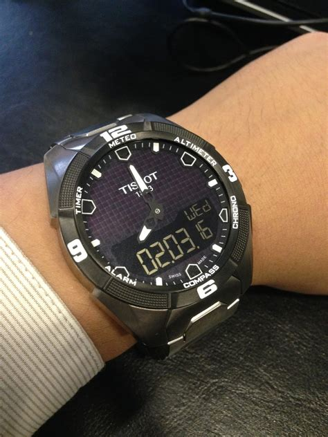 Tissot T Touch Titanium a fortnight review 2 weeks with the tissot t touch expert