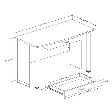 typical desk size office desk dimensions standard