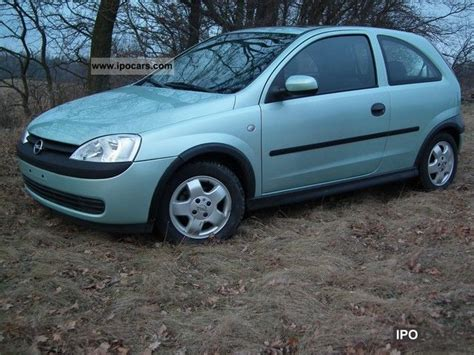 opel corsa 2002 2002 opel corsa car photo and specs