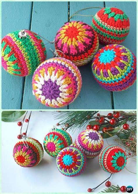 20 diy crochet christmas ornament free patterns crochet