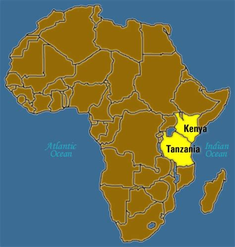tanzania on the world map arusha mwatate road to improve trade by 50 kenyapoa