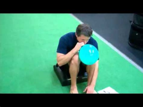 balloon breathing with squat