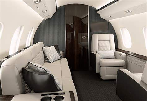 Global 6000 Interior by Five Of The Best High End Jets Out There