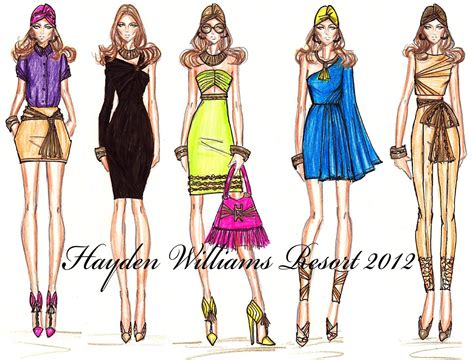 design clothes tumblr hayden williams fashion illustrations june 2011