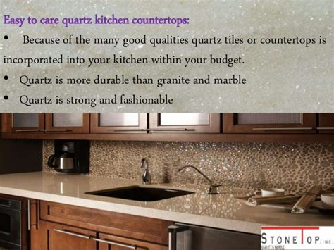 Care Of Quartz Countertops by All About Quartz Kitchen Countertops Top Inc