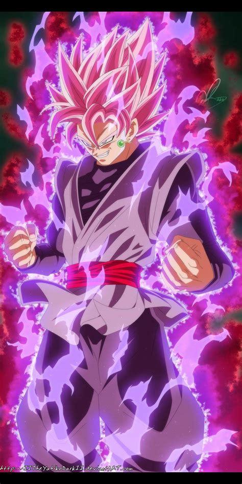 imagenes de goku mamonas goku black super saiyajin rosa drag 243 n ball pinterest