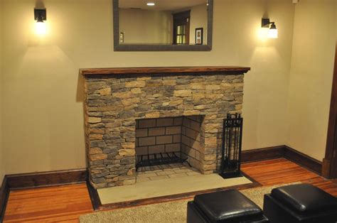 dry stack stone fireplace ideas stacked stone fireplace