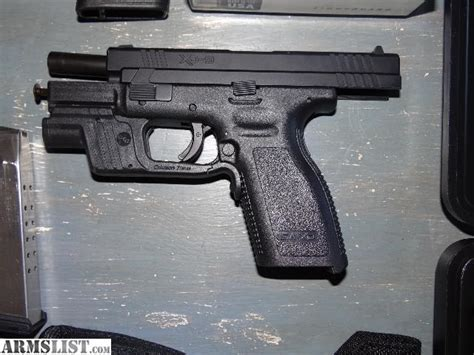 springfield xd tactical light armslist for sale springfield xd 9mm with crimson trace