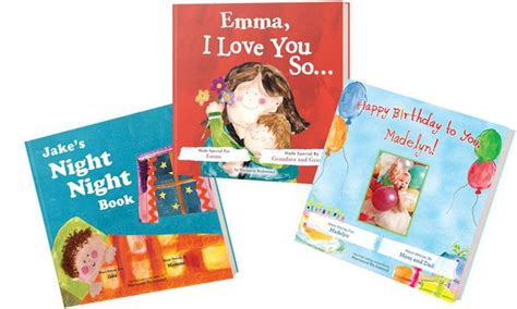 personalized books for children with their picture personalized books put me in the story groupon