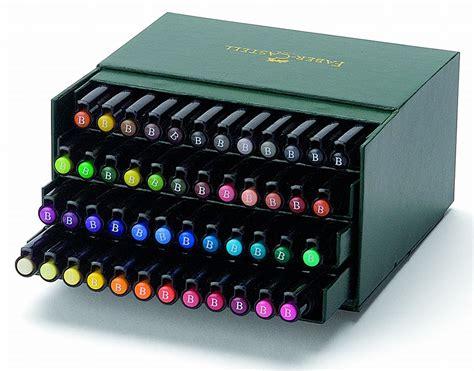 Sale Faber Castell Penggaris Set faber castell pitt brush pen set 48 pkg assorted artists pens arts crafts