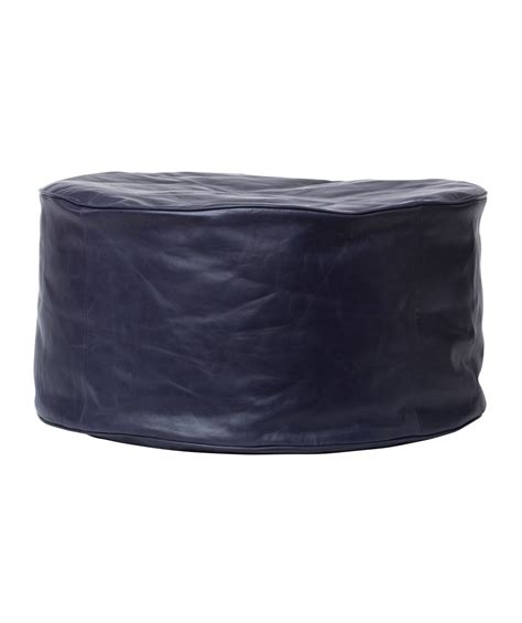 navy blue leather ottoman navy leather ottoman madrid storage ottoman nail heads