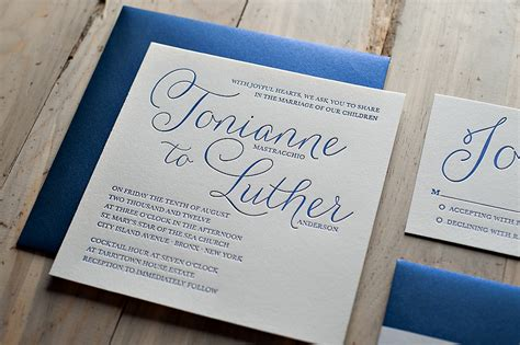 blue wedding invitations breathtaking navy blue wedding invitations theruntime