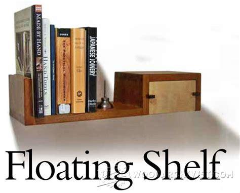 floating shelf plans woodarchivist