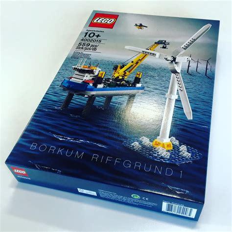 Baru Lego 4002015 Borkum Riffgrund 1 lego hungarian factory gift 4002015 borkum riffgrund offshore windfarm set minifigure