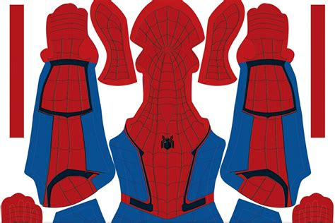 spiderman suit pattern free free spider man homecoming pattern crazyfranky