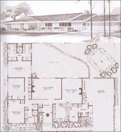 mid century home plans gallery for gt mid century modern ranch house plans