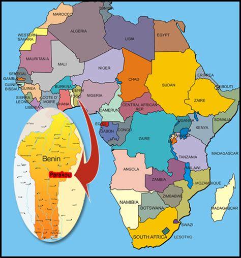 africa map benin benin map africa