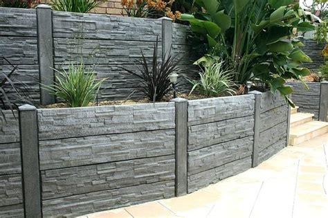 how to build a concrete retaining wall salmaun me