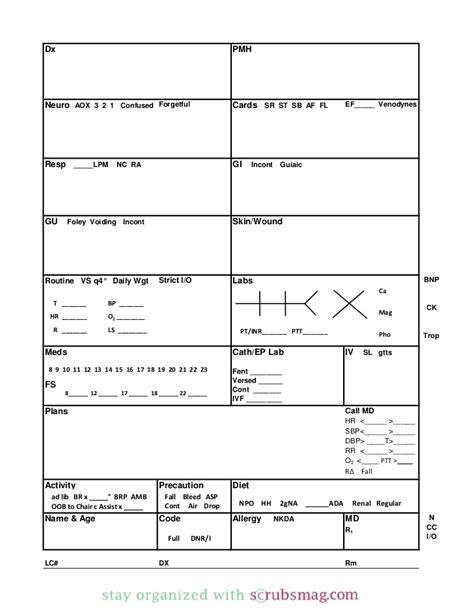 icu report template icu report sheet templates images