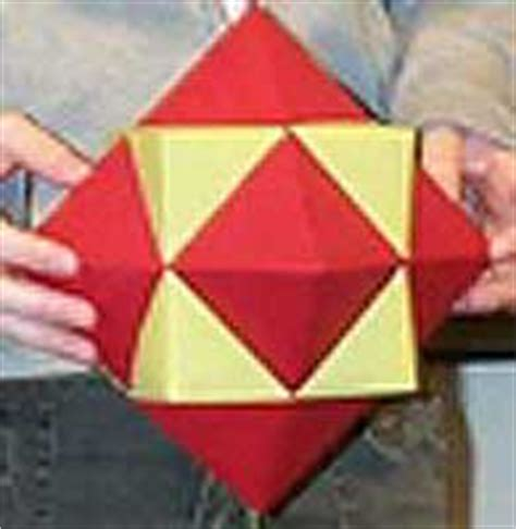How To Make A Polyhedron Out Of Paper - compound of cube and octahedron