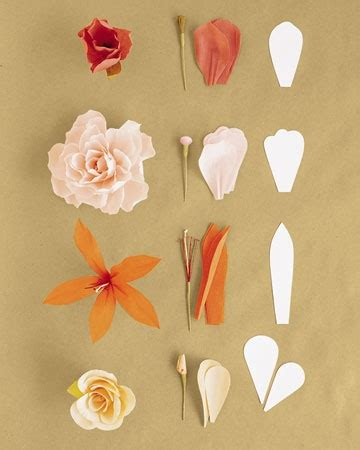 How To Make Paper Flowers With Crepe Paper - how to make crepe paper flowers martha stewart