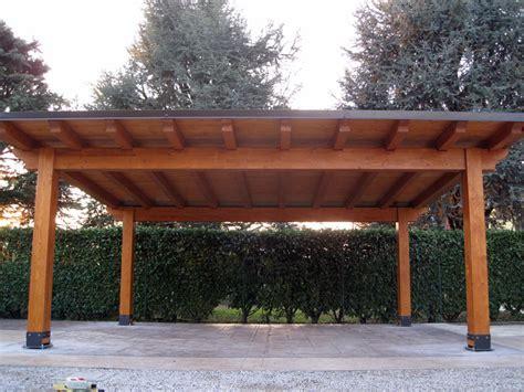 tettoie in legno lamellare per auto carport in legno lamellare modello classic c02208
