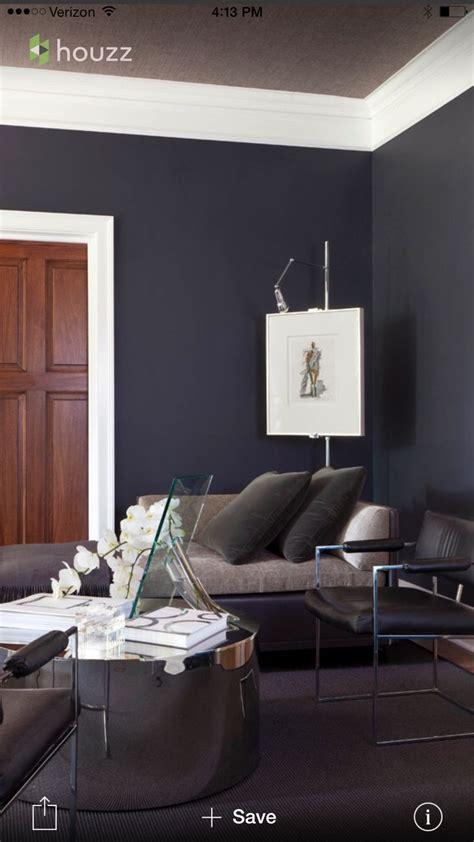 benjamin moore black horizon paint living room grey