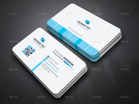 business card set template professional business cards print ad templates
