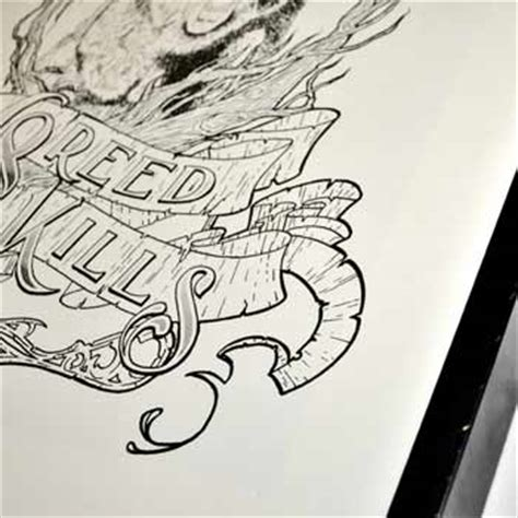 greed tattoo personal greed kills screenprint jord jansen tattoos
