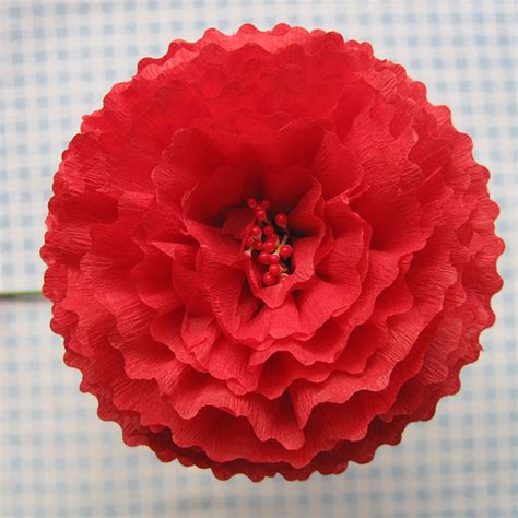 Flower Using Crepe Paper - crepe paper flowers using streamers and a ruffler foot