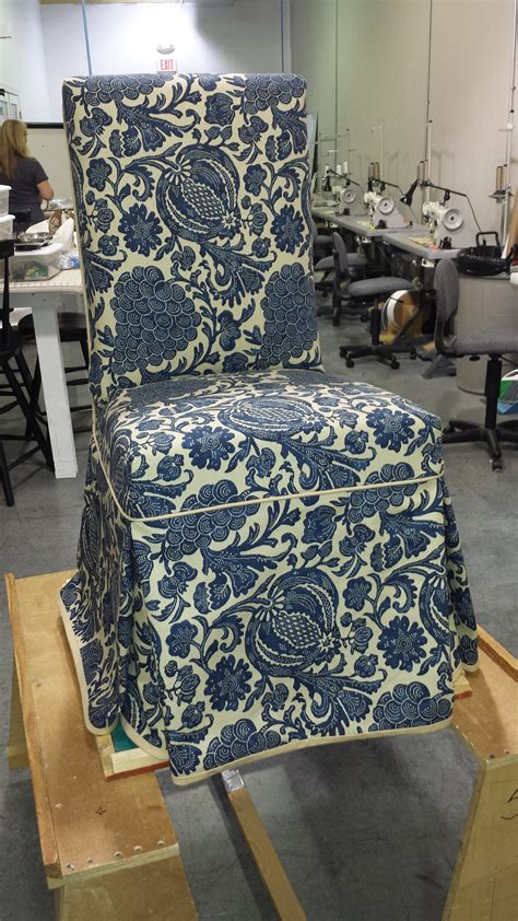 custom parsons chair slipcover slipcovers  chairs