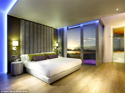 hotel rooms with inside inside the rock hotel ibiza the in europe daily mail