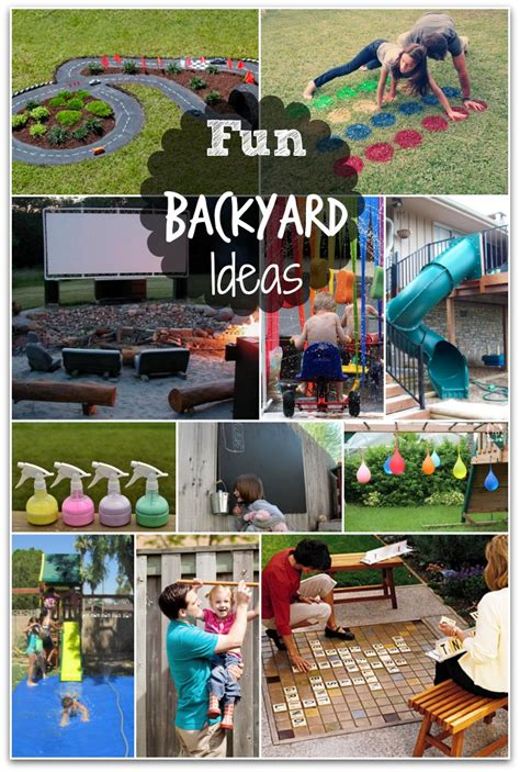 fun things to do in the backyard fun backyard ideas these diy ideas will make summertime