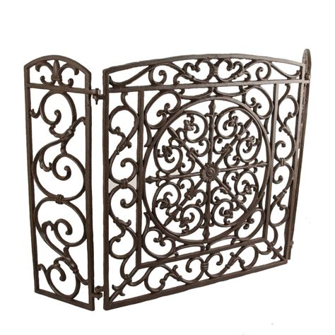 cast iron screen by dibor notonthehighstreet