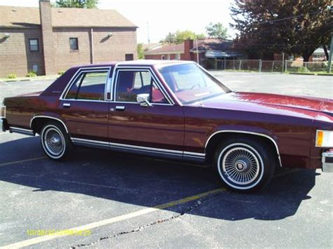 how to learn about cars 1987 mercury grand marquis electronic valve timing sell used 1987 mercury grand marquis ls in dearborn heights michigan united states for us