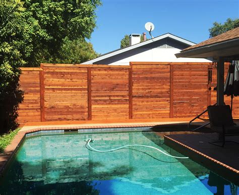 horizontal fence horizontal cedar fence finest horizontal fence design