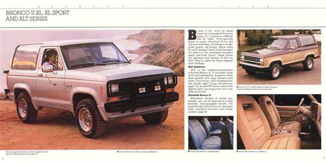 old car repair manuals 1988 ford bronco ii head up display 1988 ford bronco ii brochure