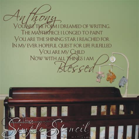 baby quote wall stickers baby nursery wall stickers quotes peenmedia