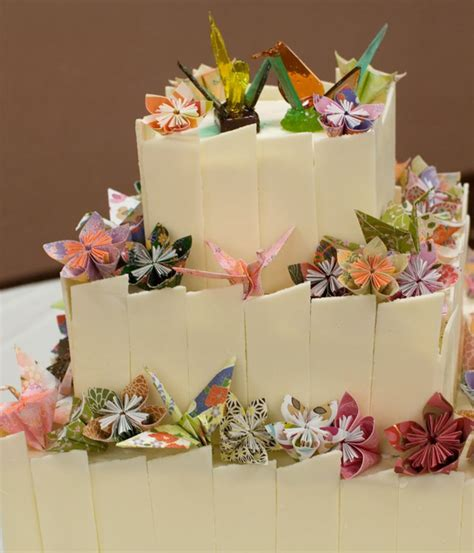 How To Make A Origami Cake - top origami cakes cakecentral