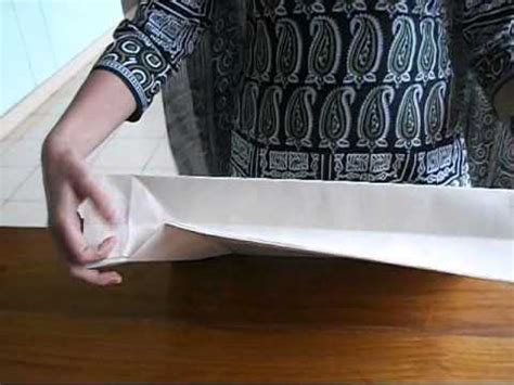 How To Make Paper Carry Bags - how to make a simple paper carry bag explained in