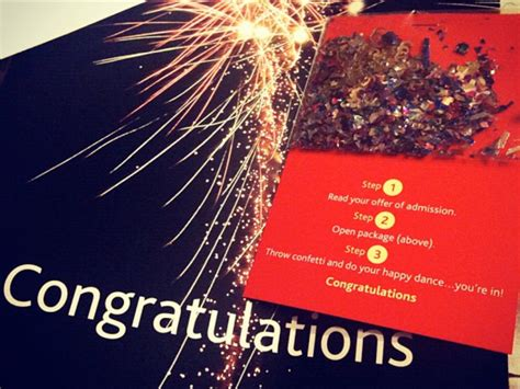 Brock Acceptance Letter Confetti Do Your Happy Bright Ideas Eduvation
