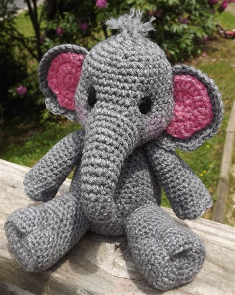 baby elephant amigurumi crochet pattern pdf doll not included baby elephants amigurumi and