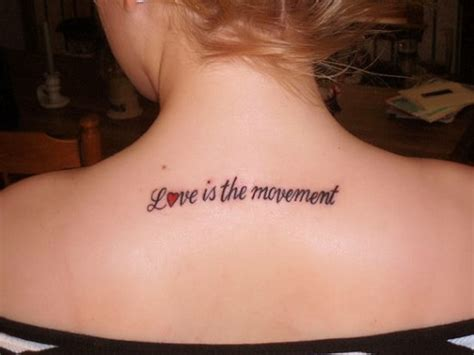 Tattoo Inspiration Text Girl | 30 awesome love text tattoo designs for lovers sheplanet