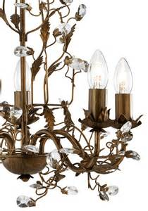 brown chandelier almandite brown gold 5 light chandelier with