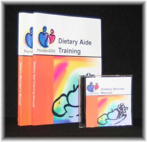 dietary aide manual ebooks health