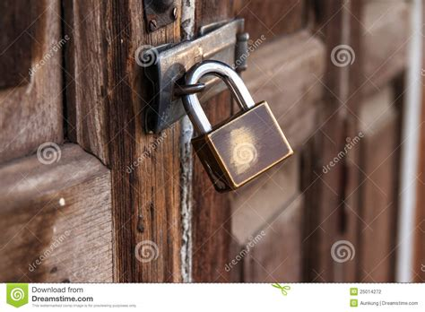 a locked door stock photography image 25014272